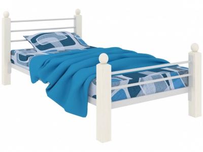 Кровать Милана мини Lux Plus белая 800х1900 акция