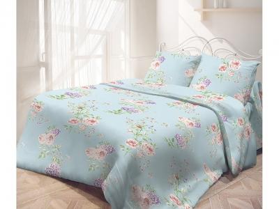 Комплект постельного белья Самойловский Текстиль Евро Английски розы (арт. 7141278)