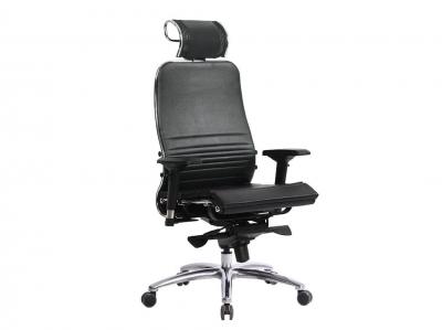 Компьютерное кресло Samurai K-3.04 черный-721 с ковриком СSm-25
