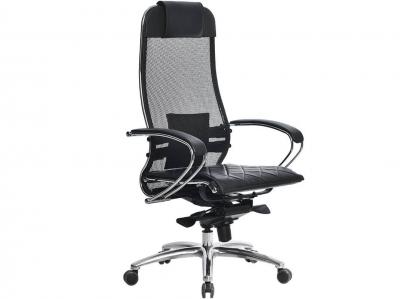 Компьютерное кресло Samurai S-1.04 черный с ковриком СSm-10