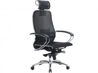 Компьютерное кресло Samurai S-2.04 черный плюс