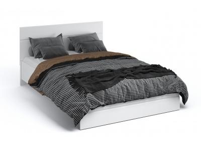 Кровать 140 без основания Йорк Белый жемчуг